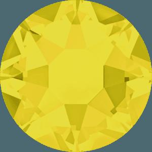 Swarovski 2078 - XIRIUS Rose, Hotfix, Yellow Opal