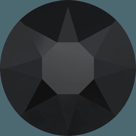 Swarovski 2078 - XIRIUS Rose, Hotfix, Jet