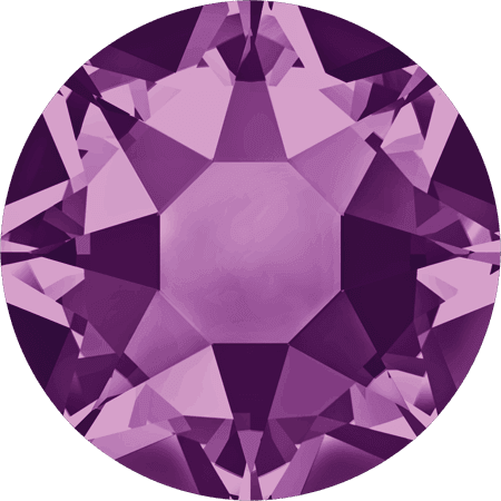 Swarovski 2078 - XIRIUS Rose, Hotfix, Amethyst