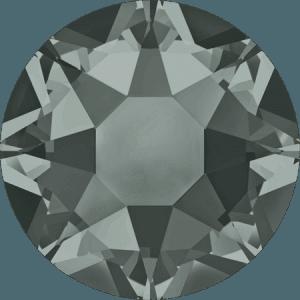 Swarovski 2078 - XIRIUS Rose, Hotfix, Black Diamond