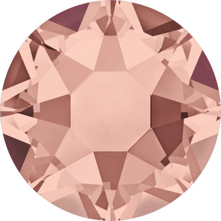 Swarovski 2078 - XIRIUS Rose, Hotfix, Blush Rose