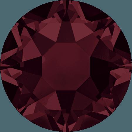 Swarovski 2078 - XIRIUS Rose, Hotfix, Burgundy