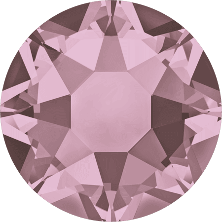 Swarovski 2078 - XIRIUS Rose, Hotfix, Crystal Antique Pink