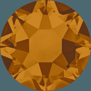 Swarovski 2078 - XIRIUS Rose, Hotfix, Crystal Copper