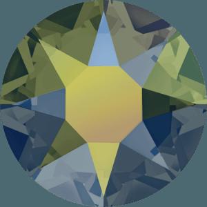 Swarovski 2078 - XIRIUS Rose, Hotfix, Crystal Iridescent Green