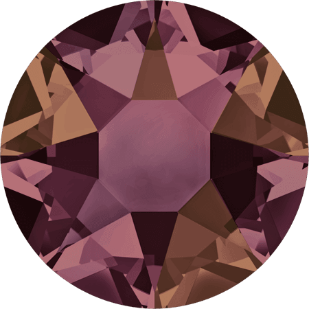 Swarovski 2078 - XIRIUS Rose, Hotfix, Crystal Lilac Shadow
