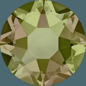 Swarovski 2078 - XIRIUS Rose, Hotfix, Crystal Luminous Green