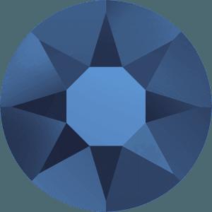 Swarovski 2078 - XIRIUS Rose, Hotfix, Crystal Metallic Blue
