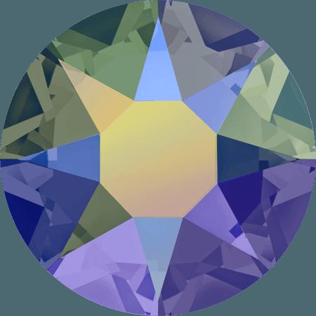 Swarovski 2078 - XIRIUS Rose, Hotfix, Crystal Paradise Shine
