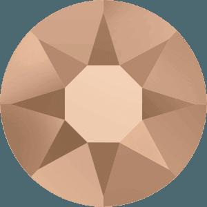 Swarovski 2078 - XIRIUS Rose, Hotfix, Crystal Rose Gold