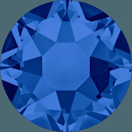 Swarovski 2078 - XIRIUS Rose, Hotfix, Capri Blue