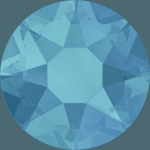 Swarovski 2078 - XIRIUS Rose, Hotfix, Caribbean Blue Opal