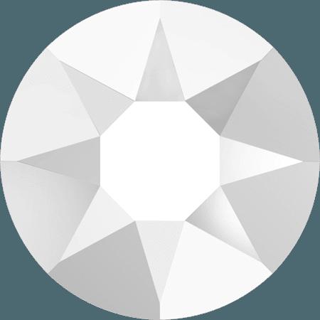 Swarovski 2078 - XIRIUS Rose, Hotfix, Chalkwhite