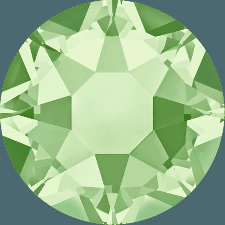 Swarovski 2078 - XIRIUS Rose, Hotfix, Chrysolite