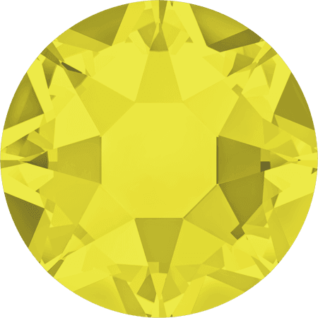 Swarovski 2078 - XIRIUS Rose, Hotfix, Citrine