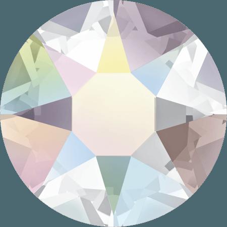 Swarovski 2078 - XIRIUS Rose, Hotfix, Crystal AB