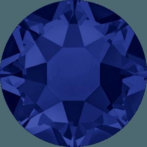 Swarovski 2078 - XIRIUS Rose, Hotfix, Dark Indigo
