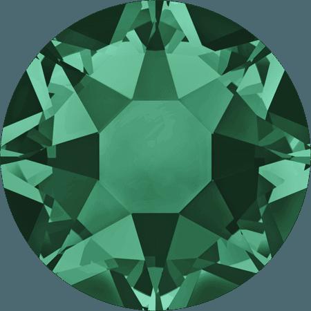 Swarovski 2078 - XIRIUS Rose, Hotfix, Emerald