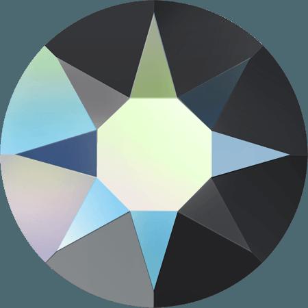 Swarovski 2078 - XIRIUS Rose, Hotfix, Jet AB