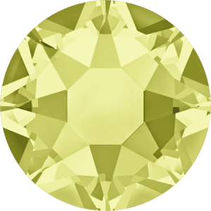 Swarovski 2078 - XIRIUS Rose, Hotfix, Jonquil