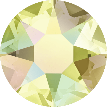 Swarovski 2078 - XIRIUS Rose, Hotfix, Jonquil AB