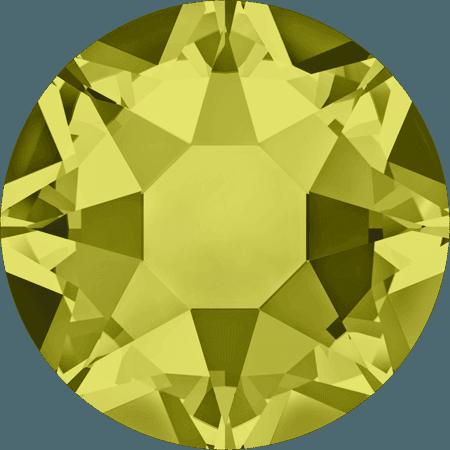 Swarovski 2078 - XIRIUS Rose, Hotfix, Khaki