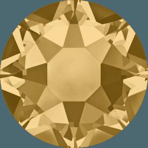 Swarovski 2078 - XIRIUS Rose, Hotfix, Light Colorado Topaz