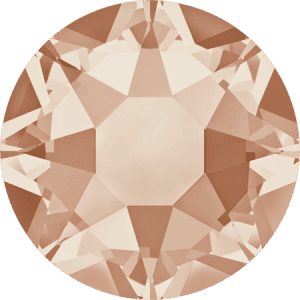Swarovski 2078 - XIRIUS Rose, Hotfix, Light Peach