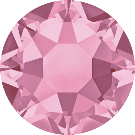 Swarovski 2078 - XIRIUS Rose, Hotfix, Light Rose