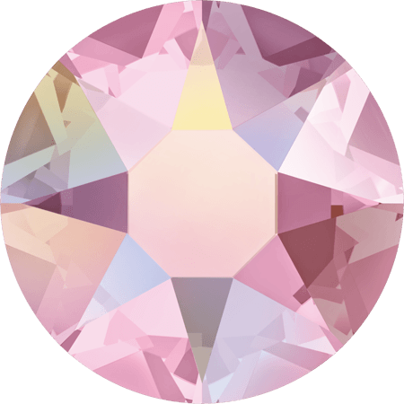 Swarovski 2078 - XIRIUS Rose, Hotfix, Light Rose AB