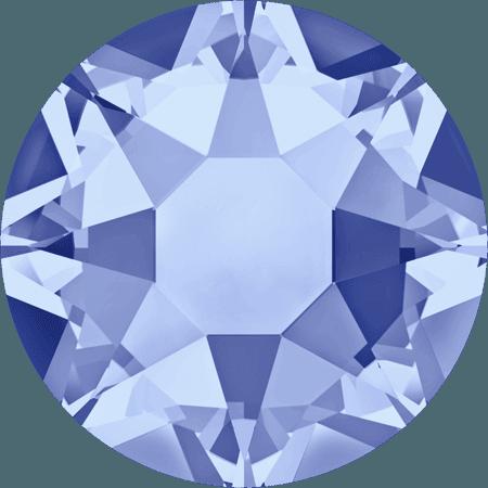 Swarovski 2078 - XIRIUS Rose, Hotfix, Light Sapphire