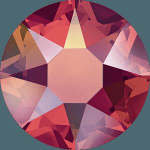 Swarovski 2078 - XIRIUS Rose, Hotfix, Light Siam AB