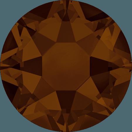Swarovski 2078 - XIRIUS Rose, Hotfix, Mocca