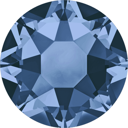 Swarovski 2078 - XIRIUS Rose, Hotfix, Montana