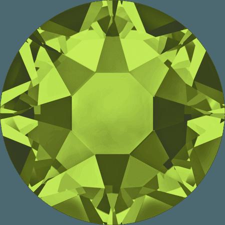 Swarovski 2078 - XIRIUS Rose, Hotfix, Olivine