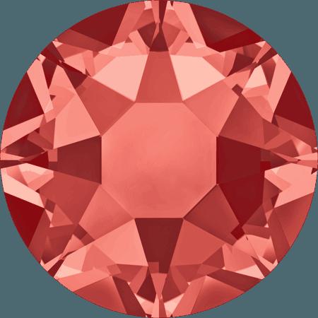 Swarovski 2078 - XIRIUS Rose, Hotfix, Padparadscha