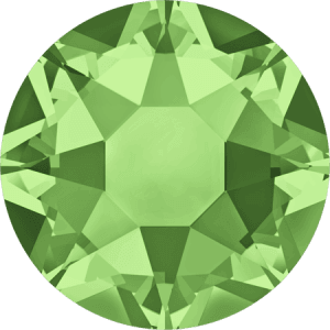 Swarovski 2078 - XIRIUS Rose, Hotfix, Peridot