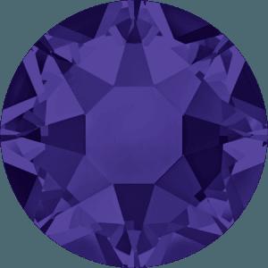 Swarovski 2078 - XIRIUS Rose, Hotfix, Purple Velvet