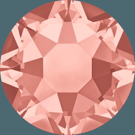 Swarovski 2078 - XIRIUS Rose, Hotfix, Rose Peach