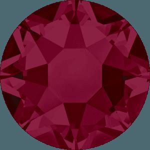 Swarovski 2078 - XIRIUS Rose, Hotfix, Ruby