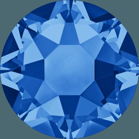 Swarovski 2078 - XIRIUS Rose, Hotfix, Sapphire