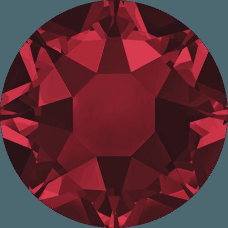 Swarovski 2078 - XIRIUS Rose, Hotfix, Siam