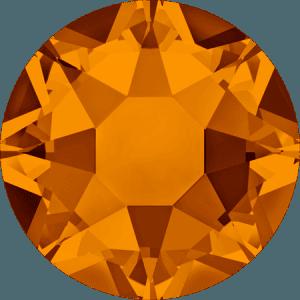 Swarovski 2078 - XIRIUS Rose, Hotfix, Tangerine