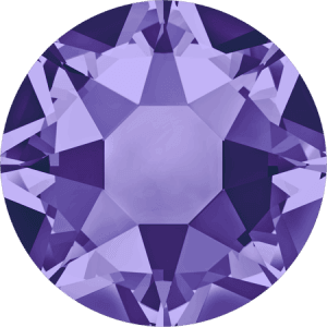 Swarovski 2078 - XIRIUS Rose, Hotfix, Tanzanite