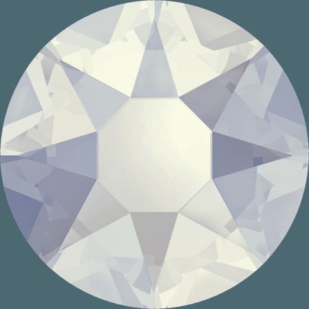 Swarovski 2078 - XIRIUS Rose, Hotfix, White Opal
