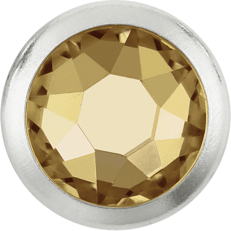 Swarovski 2078/H - Framed, Hotfix, Crystal Golden Shadow