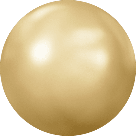 Swarovski 2080/4 - Cabochon, Hotfix, Crystal Golden Shadow