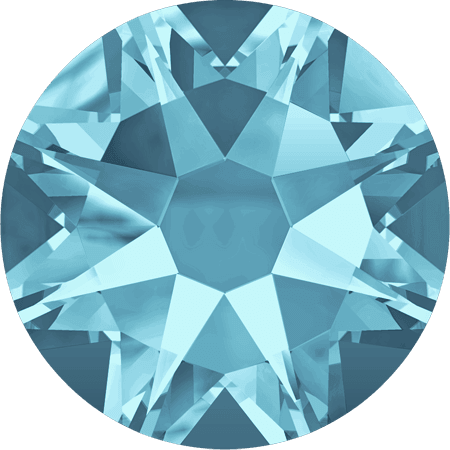 Swarovski 2088 - Xirius Rose, Aquamarine