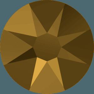 Swarovski 2088 - Xirius Rose, Crystal Dorado