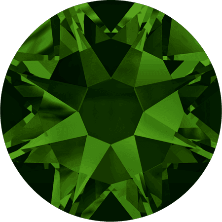 Swarovski 2088 - Xirius Rose, Dark Moss Green